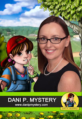 Picture: author K. Lamb with Dani P, girl detective