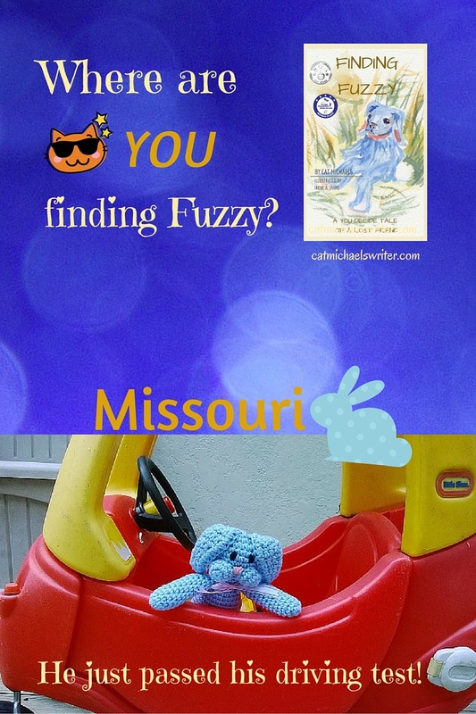 Readers find Fuzzy in Missouri ~ catmichaelswriter.com