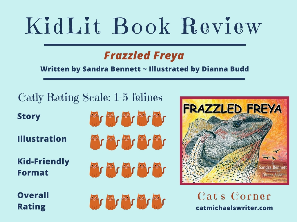 KidLit Book Review by Cat Michaels: Frazzled Freya
