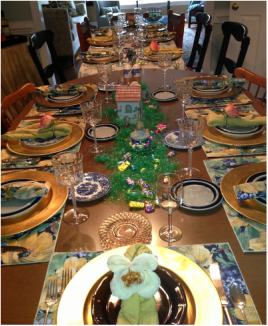 Remembering Spring, Easter, and Passover ~ catmichaelswriter.com