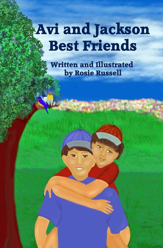Avi & Jackson, Best Friends, by Rosie Russell