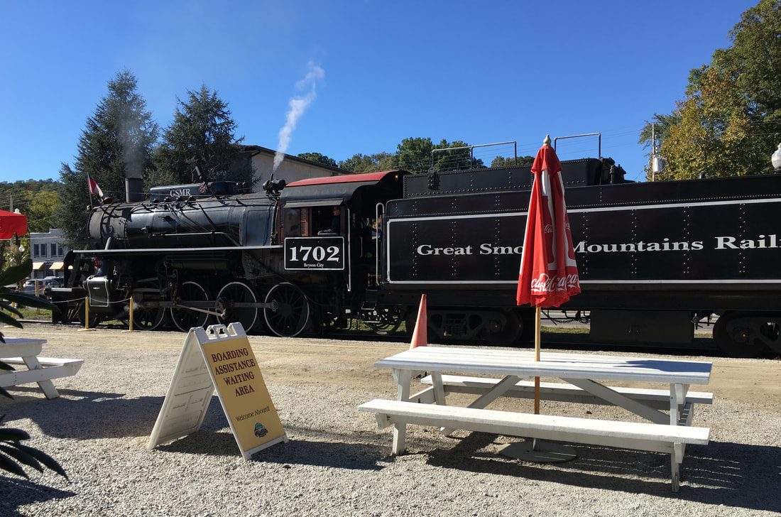Bring the kids, join me for a ride on the Great Smoky Mountains Railroad – catmichaelswriter.com