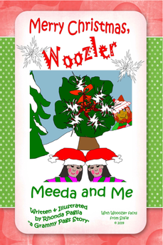 Book Cover: Merry Christmas, Woozler, by Rhonda Paglia. Reviewed by Cat Michaels
