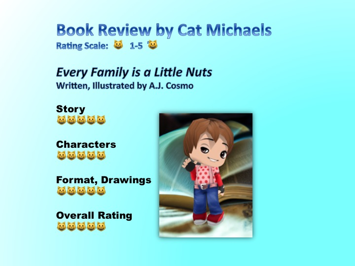 Nuts by AJ Cosmo - reviewed by Cat Michaels