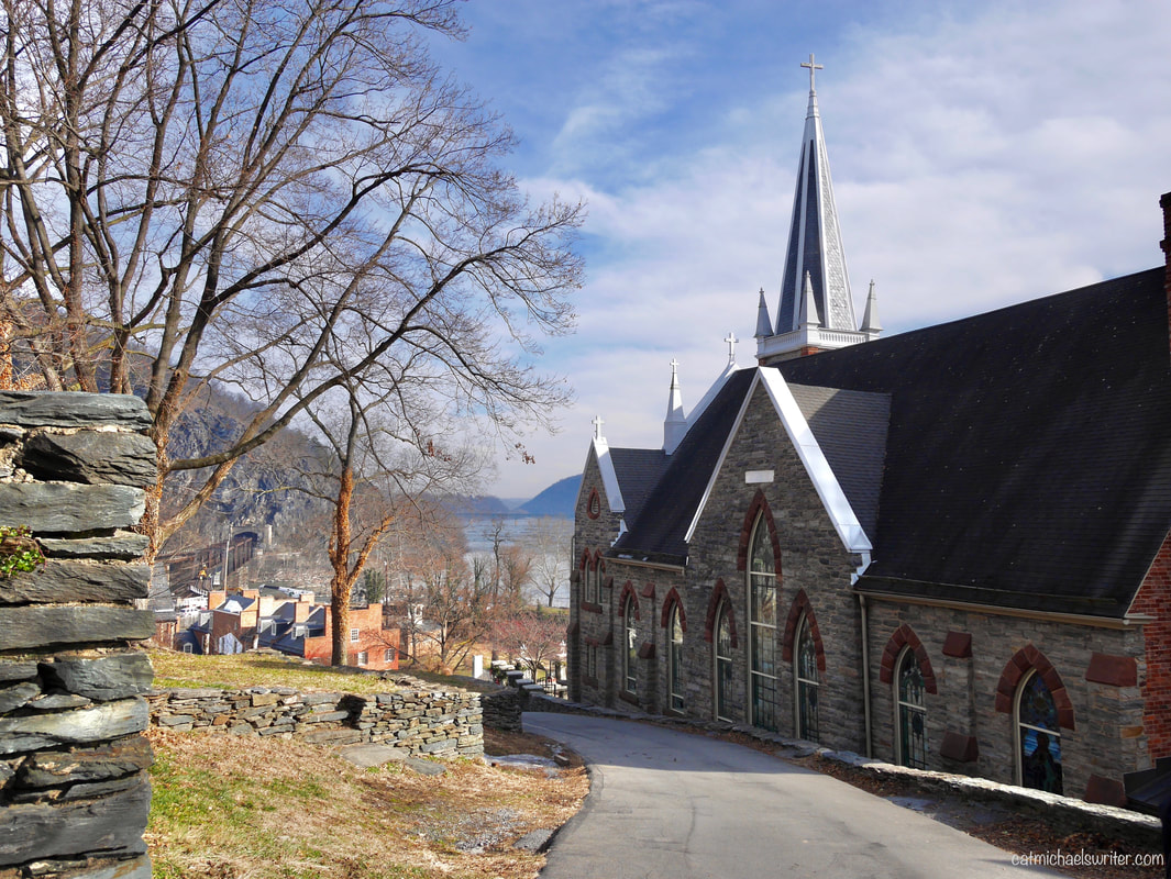 Join Me on a Photo Walk Back in Time to Historic Harpers Ferry ~ catmichaelswriter.com